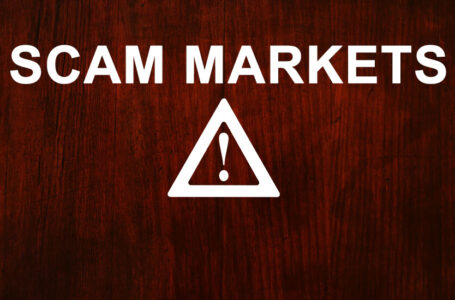 Dark Web Scam Markets List
